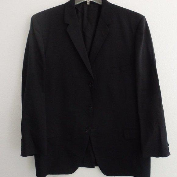 Alfani Men/'s Stretch Slim-Fit Suit Jacket Sport Coat Blazer Black 36R NEW $375